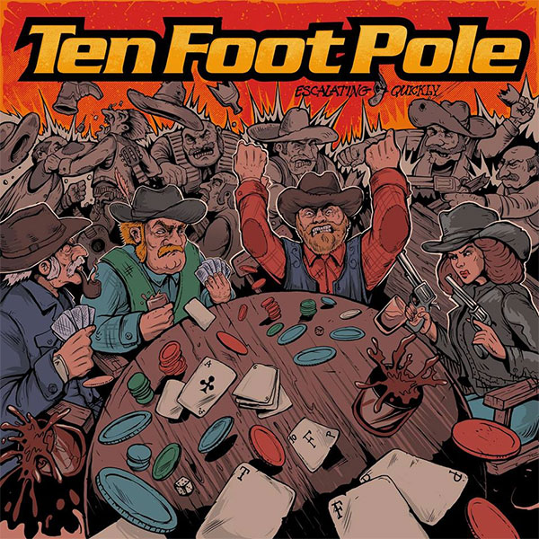 """Ten Foot Pole premiere video for """"Everything Dies"""""""