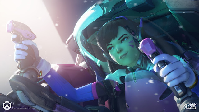 Overwatch Datamined Reveals Route 66 Spray for Competitive Season 2, A Free Trial is Coming, Ranked Tier Icons, D.Va the Streamer