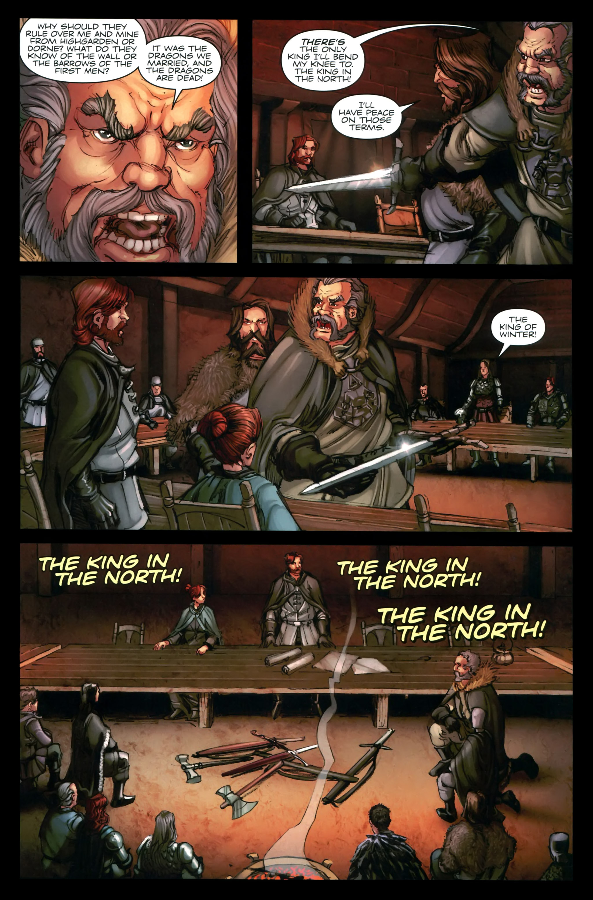 Read online A Game Of Thrones comic -  Issue #24 - 21