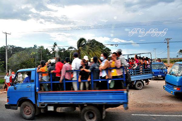 Cambodia-Vietnam Border