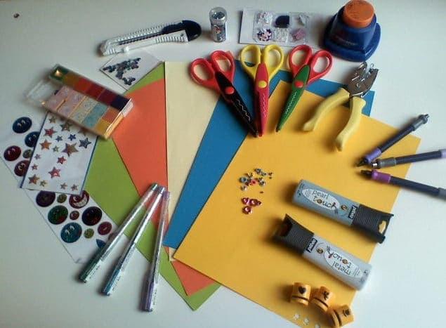 Material de scrapbooking en nuestras tiendas Alfil Be