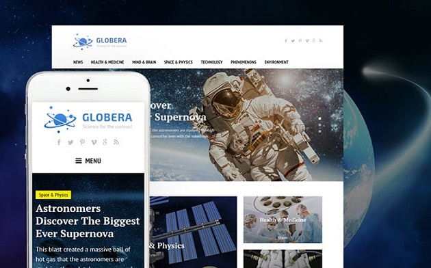 Globera – Vibrant WordPress Theme