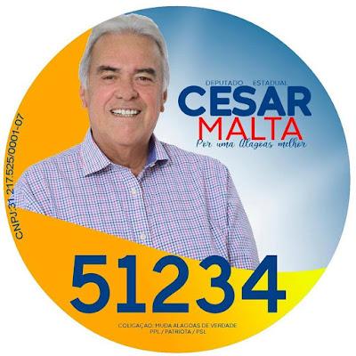 Por motivos de saúde, César Malta, desiste de cadidatura a deputado estadual