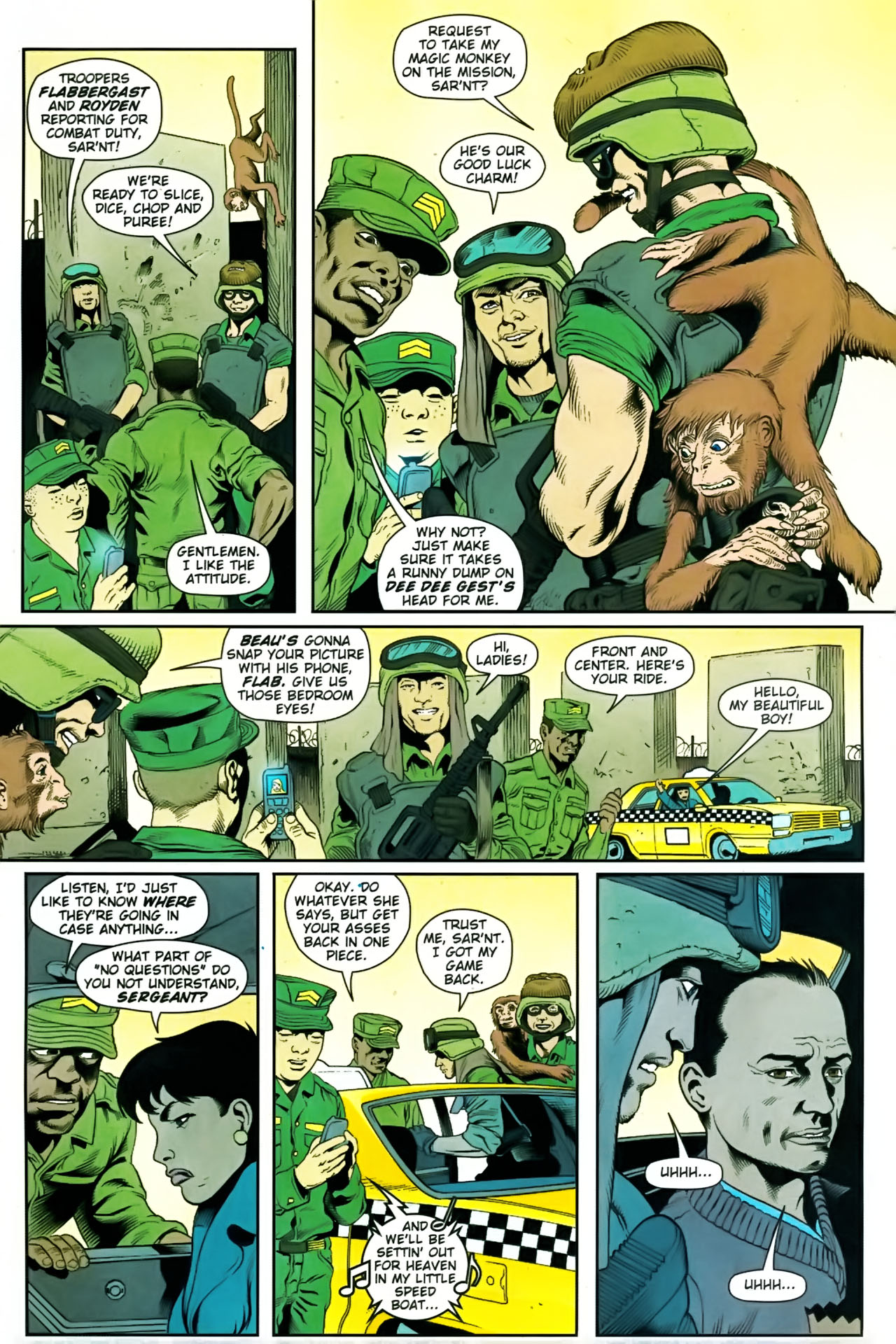 Read online Army @ Love comic -  Issue #9 - 20