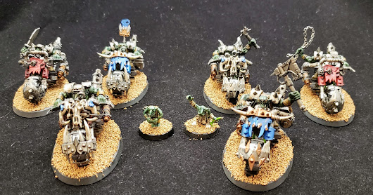 Showcase: Warbikers and grots