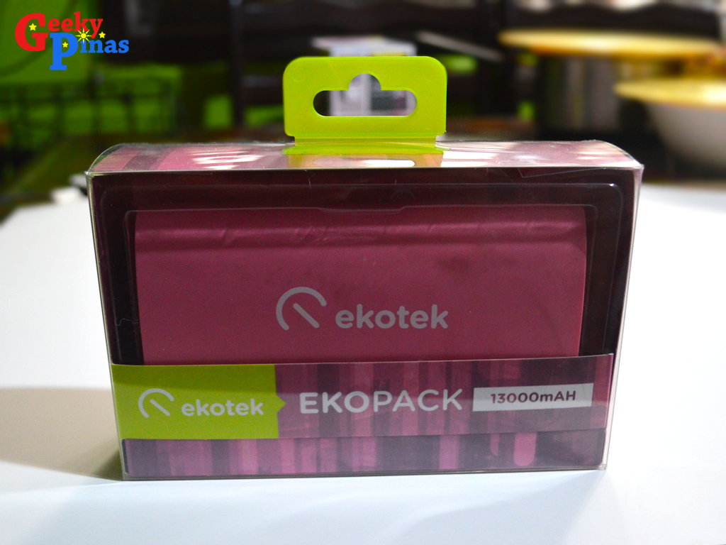 Ekopack 13000 mAh, Your Stylish Heavy Duty Powerbank, Priced At Php 1949