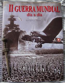 Portada del libro II Guerra Mundial día a día, de Anthony Shaw