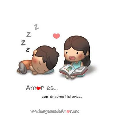 Amor es contarme historias