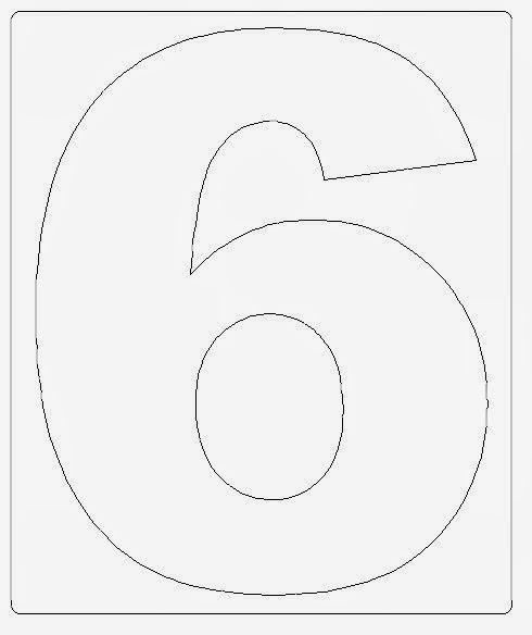 numeros para imprimir grande 18