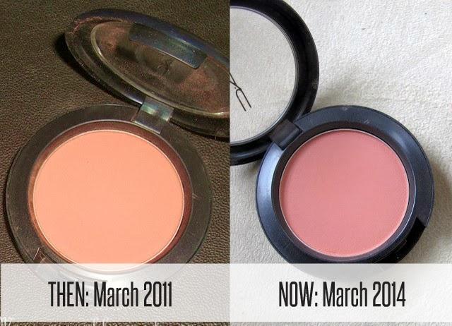 THEN & NOW: MAC Melba Blush |Makeup and Macaroons