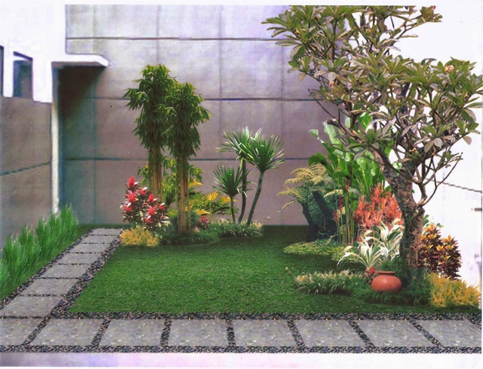 Model Rumah Minimalis Bertaman Yang Indah Dan Asri Full Woods