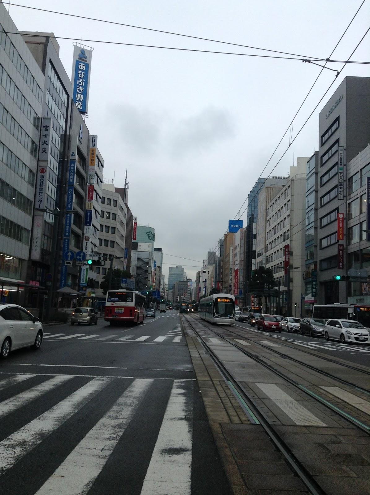 Hiroshima street Japan