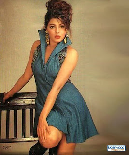 Mamta Kulkarni In Blue Short Skirt