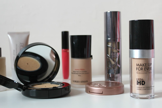 A review of Make Up Forever Ultra HD Invisible Cover Foundation
