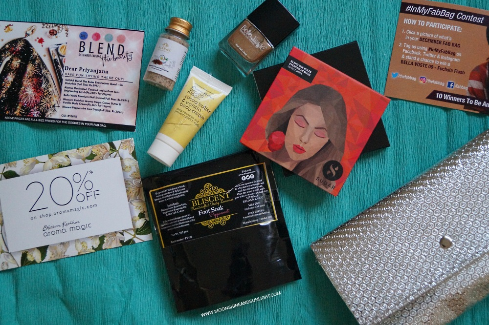 Fab Bag December 2017 | Review