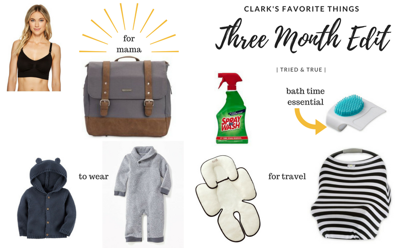 Growing up Clark // three month edit {+ giveaway!}