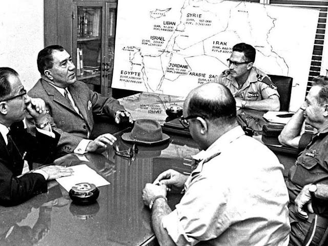 trụ sở quân đội Israel vào năm 1975