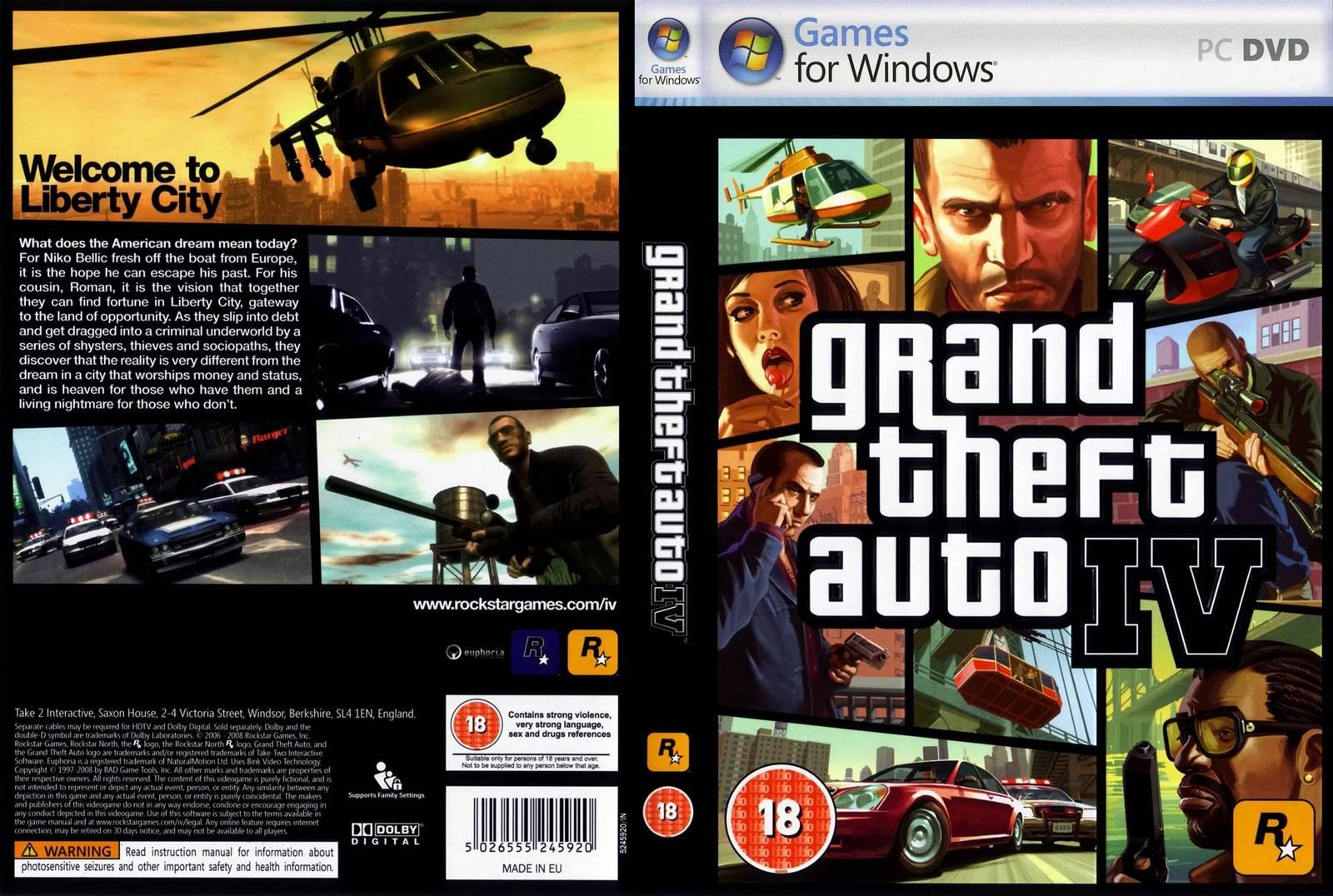 CLUBIC TÉLÉCHARGER GTA 4 PC GRATUIT DEMO