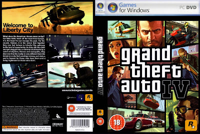 GTA IV PC DVD Capa