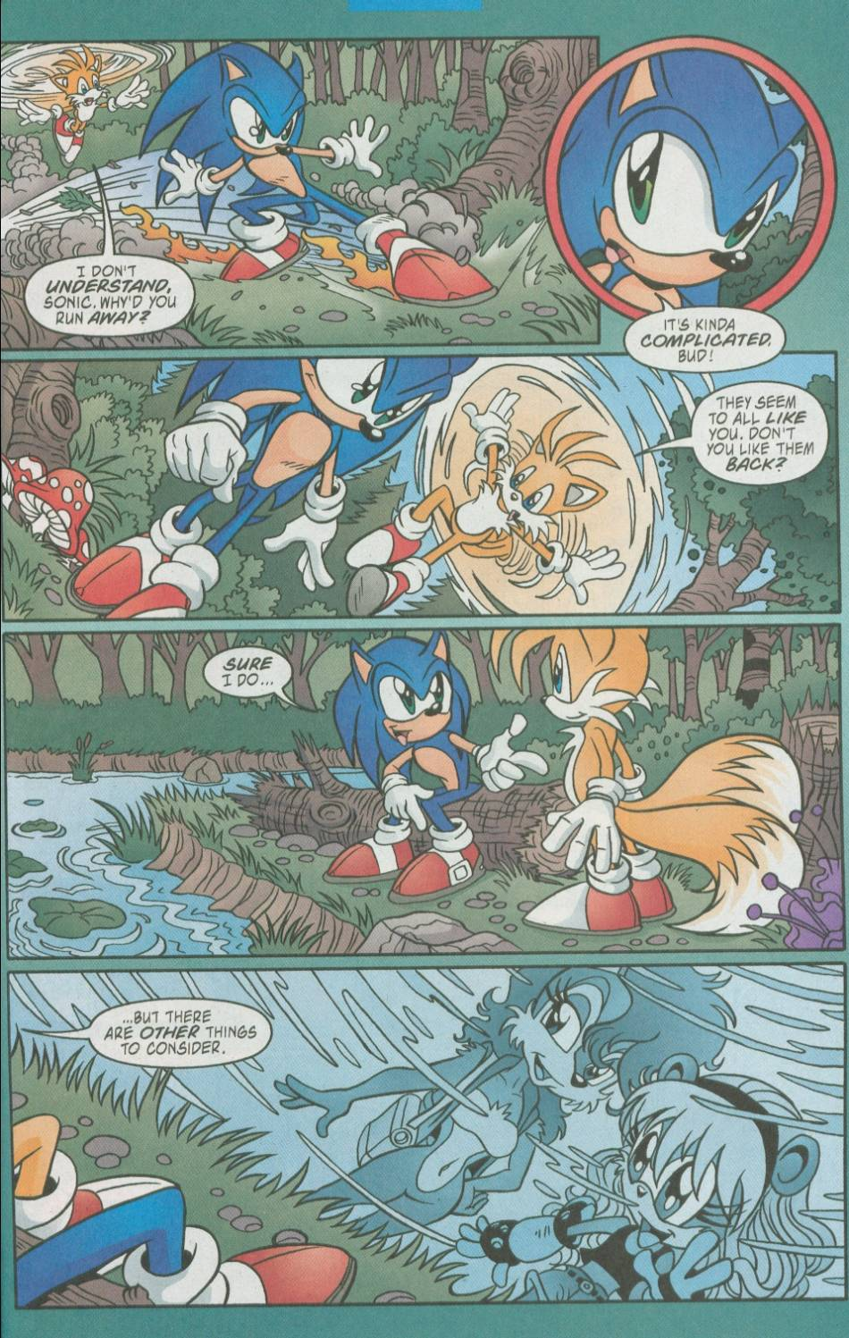 Read online Sonic The Hedgehog comic -  Issue #111 - 21