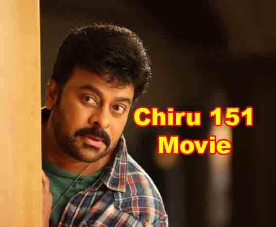 Chiru 151 Movie Director Surender Reddy