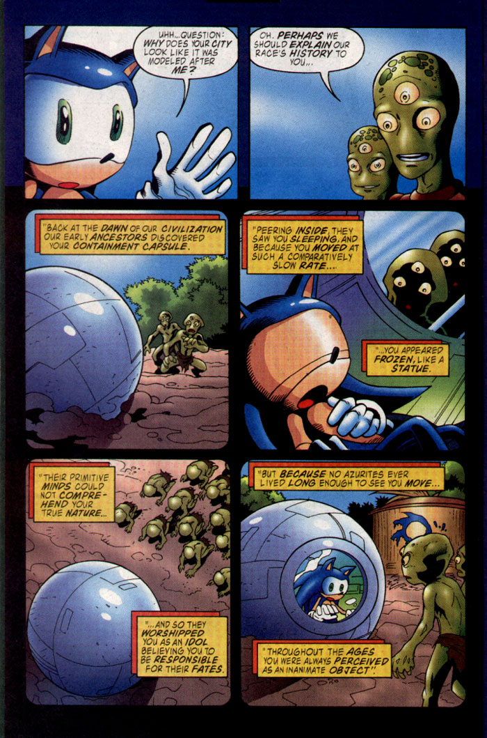 Read online Sonic The Hedgehog comic -  Issue #127 - 16