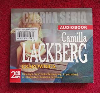 okładka książki mówionej Camilli Läckberg Czarownica