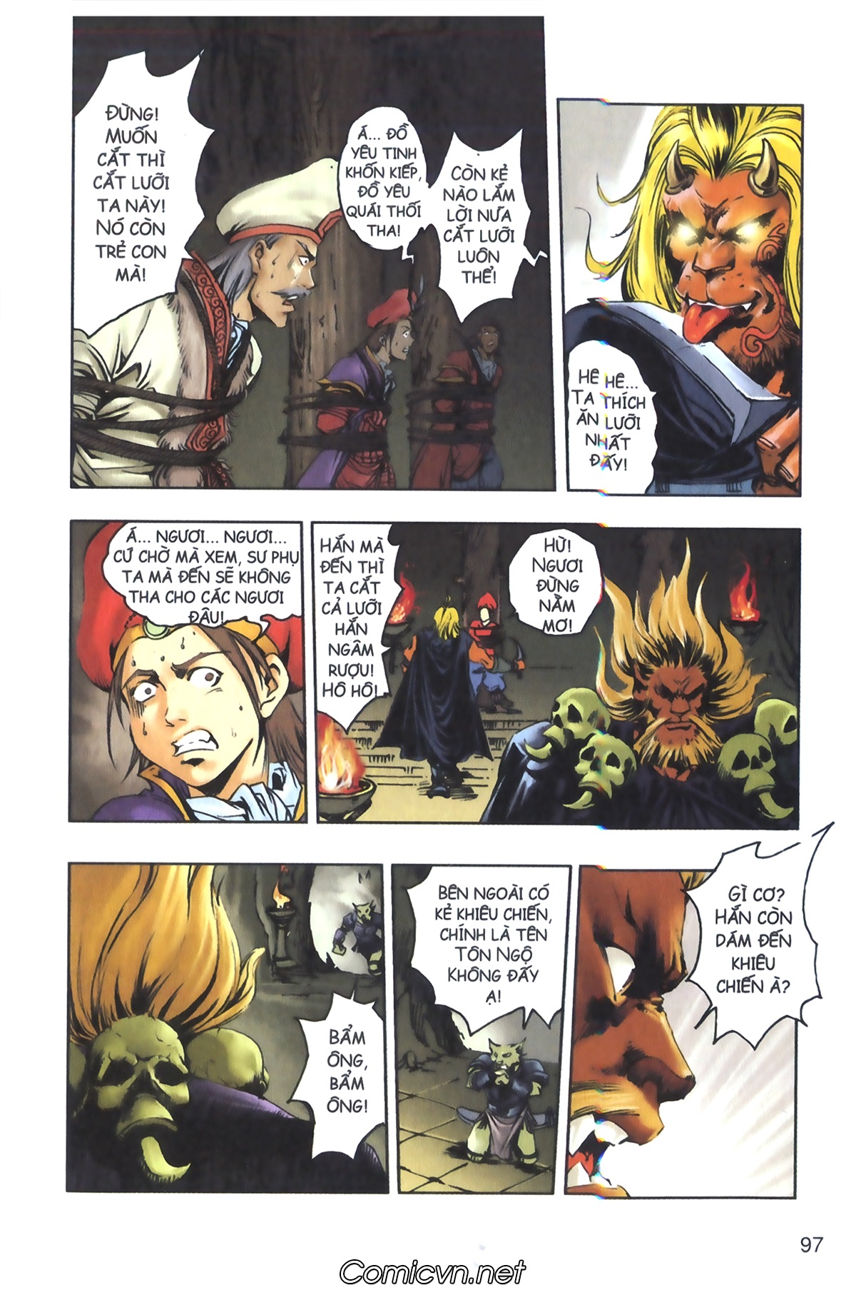 Tây Du Ký màu - Chapter 126 - Pic 8