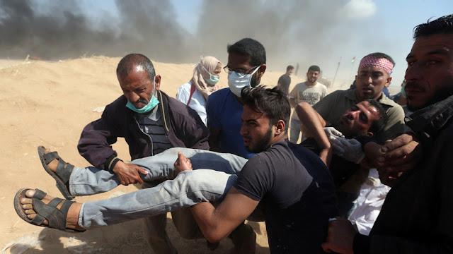 El Tribunal Supremo de Israel justifica el uso de munición real contra los manifestantes palestinos