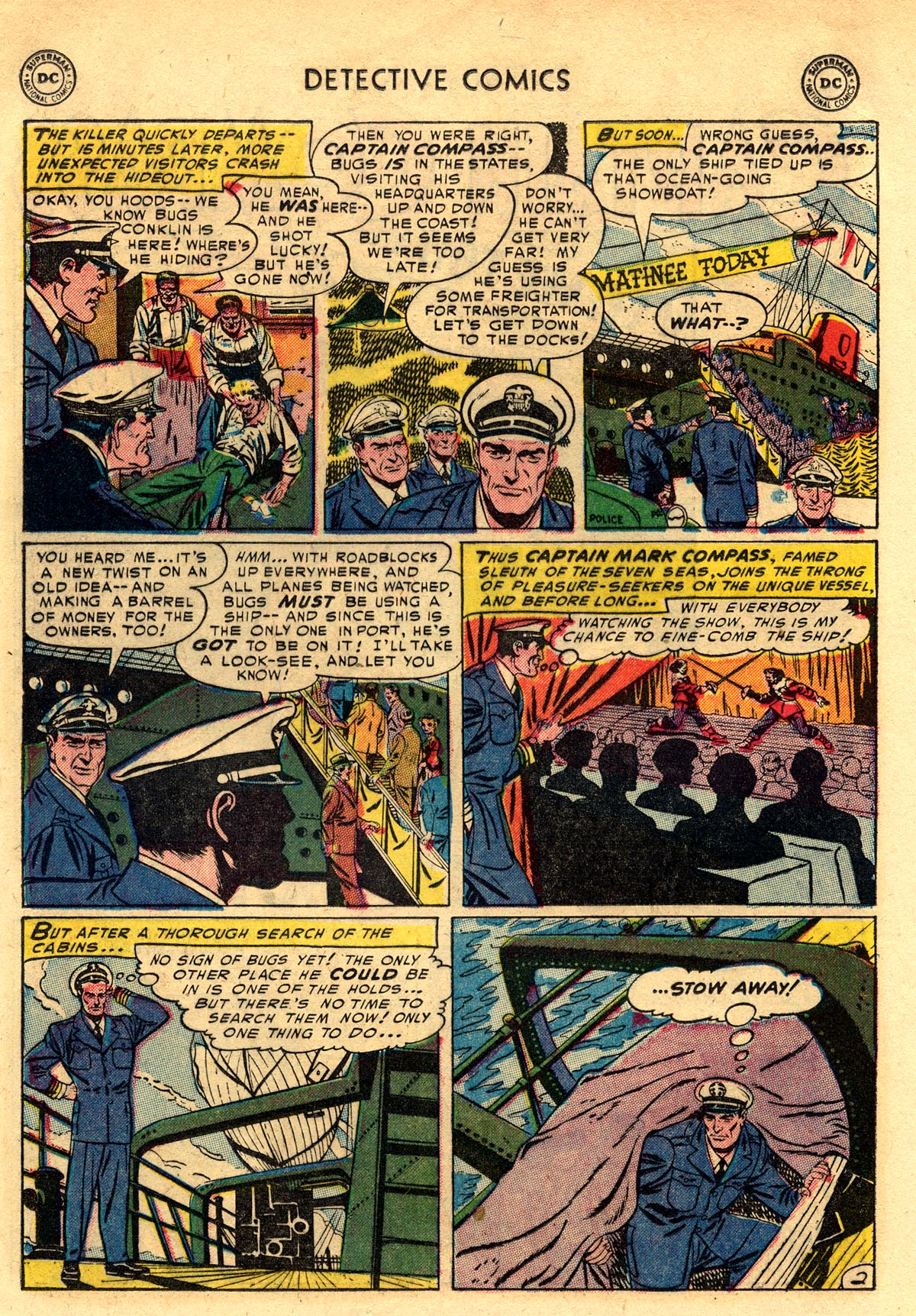 Read online Detective Comics (1937) comic -  Issue #203 - 26