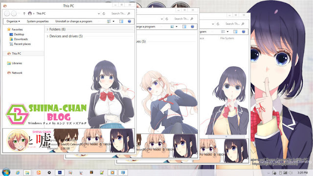 Windows 8/8.1 Theme Koi to Uso by Enji Riz