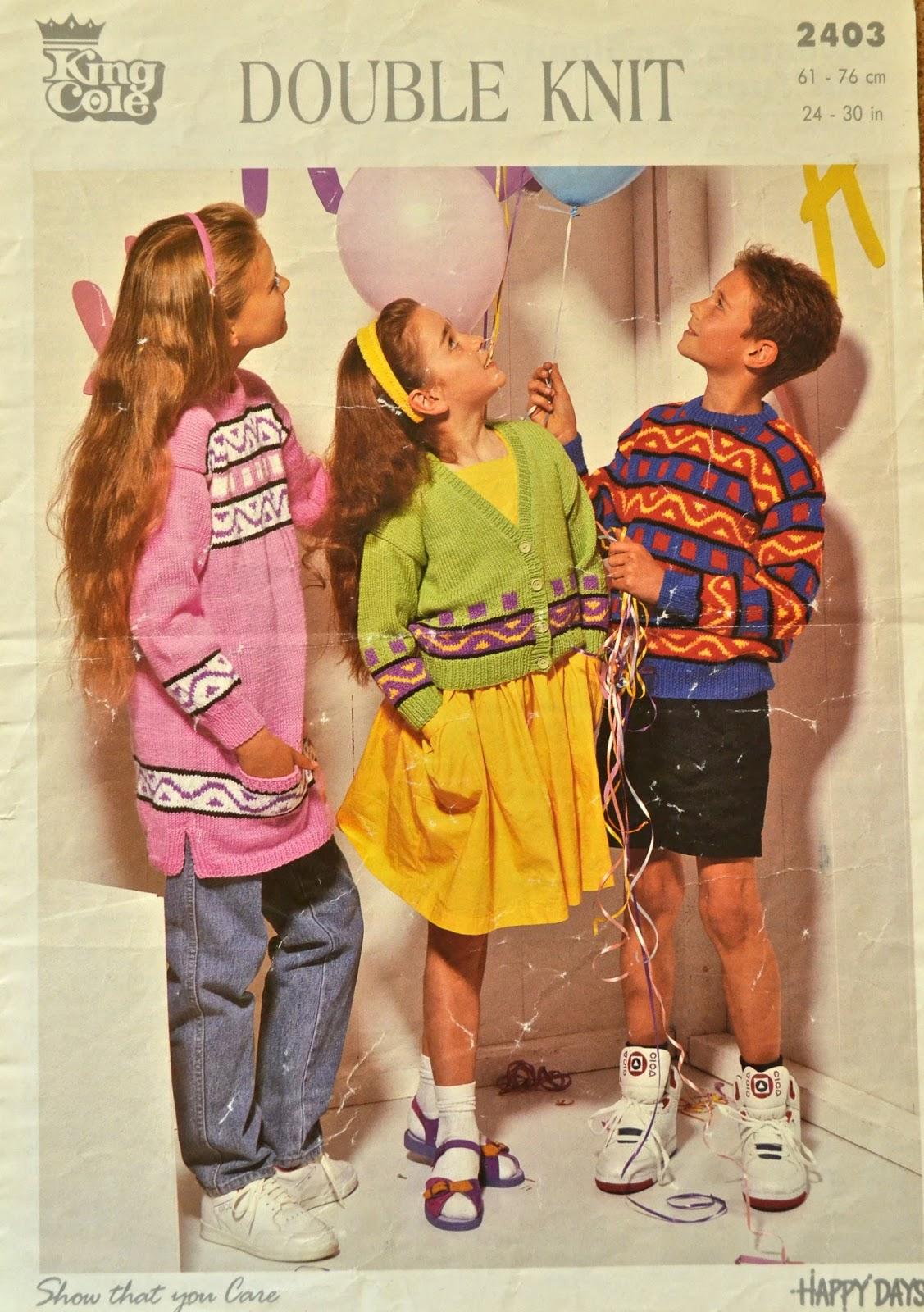 Knitting Novice: Vintage 80s Knitting Patterns - Part 2