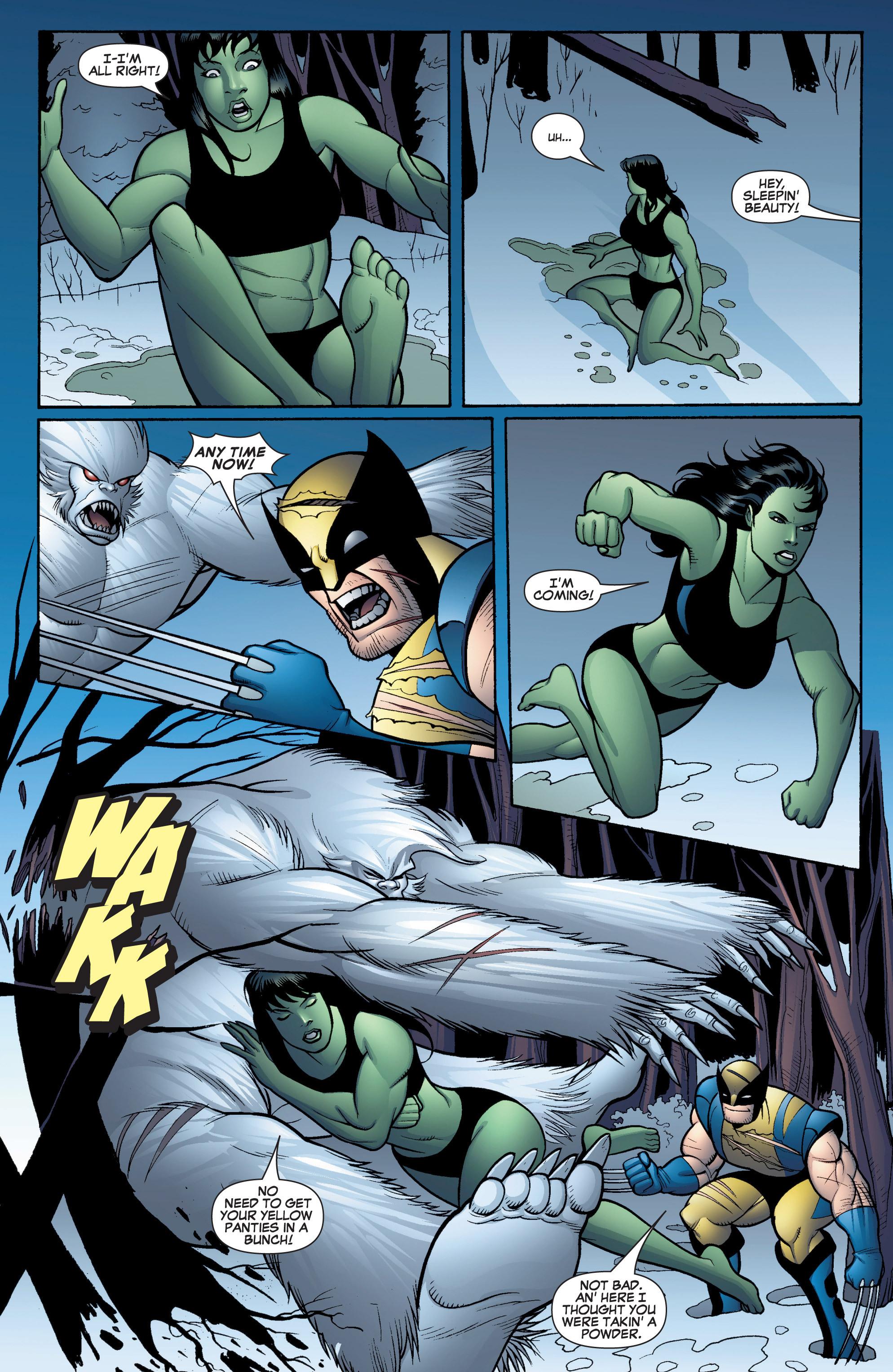 Read online She-Hulk (2005) comic -  Issue #16 - 14