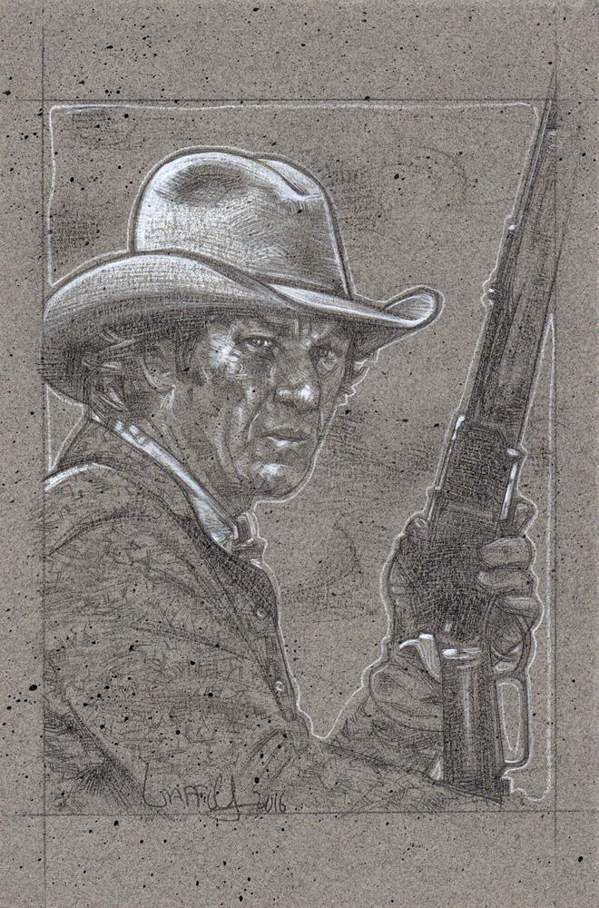 Steve McQueen as Tom Horn, Artwork© Jeff Lafferty