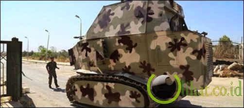 Hasil Buatan pejuang Peshmerga