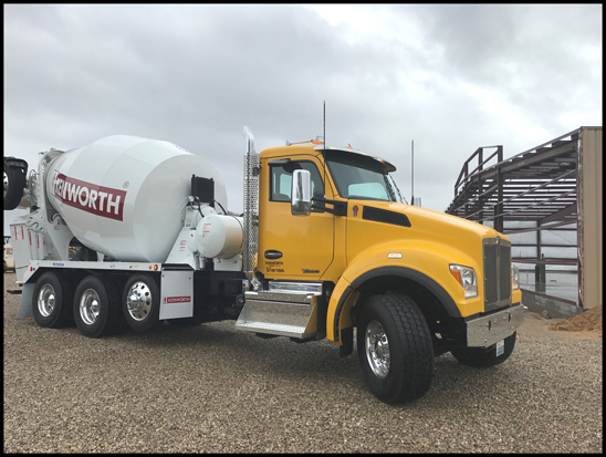 Kenworth T880 Cement Mixer