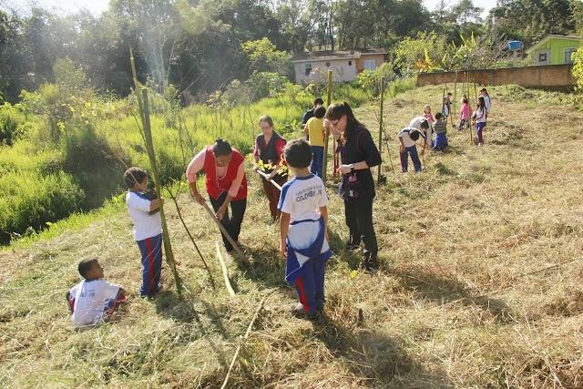 Escolas municipais desenvolvem ações ambientais que fazem parte da Ecogincana