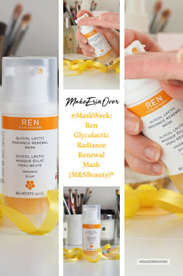 #MaskWeek: Ren Glycolactic Radiance Renewal Mask (M&SBeauty)*