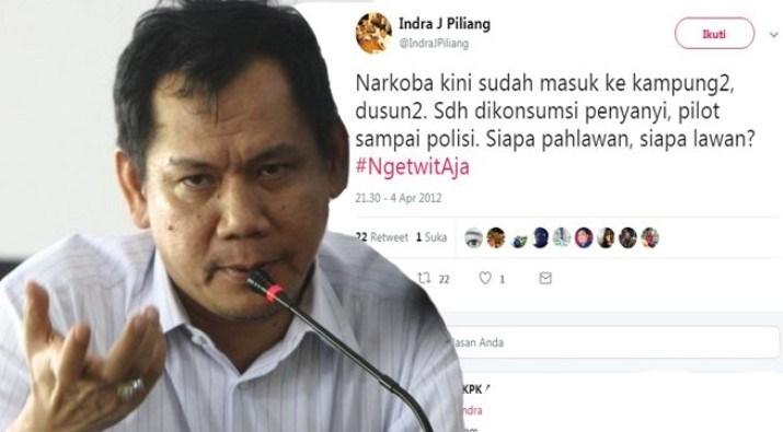 Ngakak! Efek Nyabu Politisi Golkar Indra J Piliang Supaya Bisa Nulis Novel