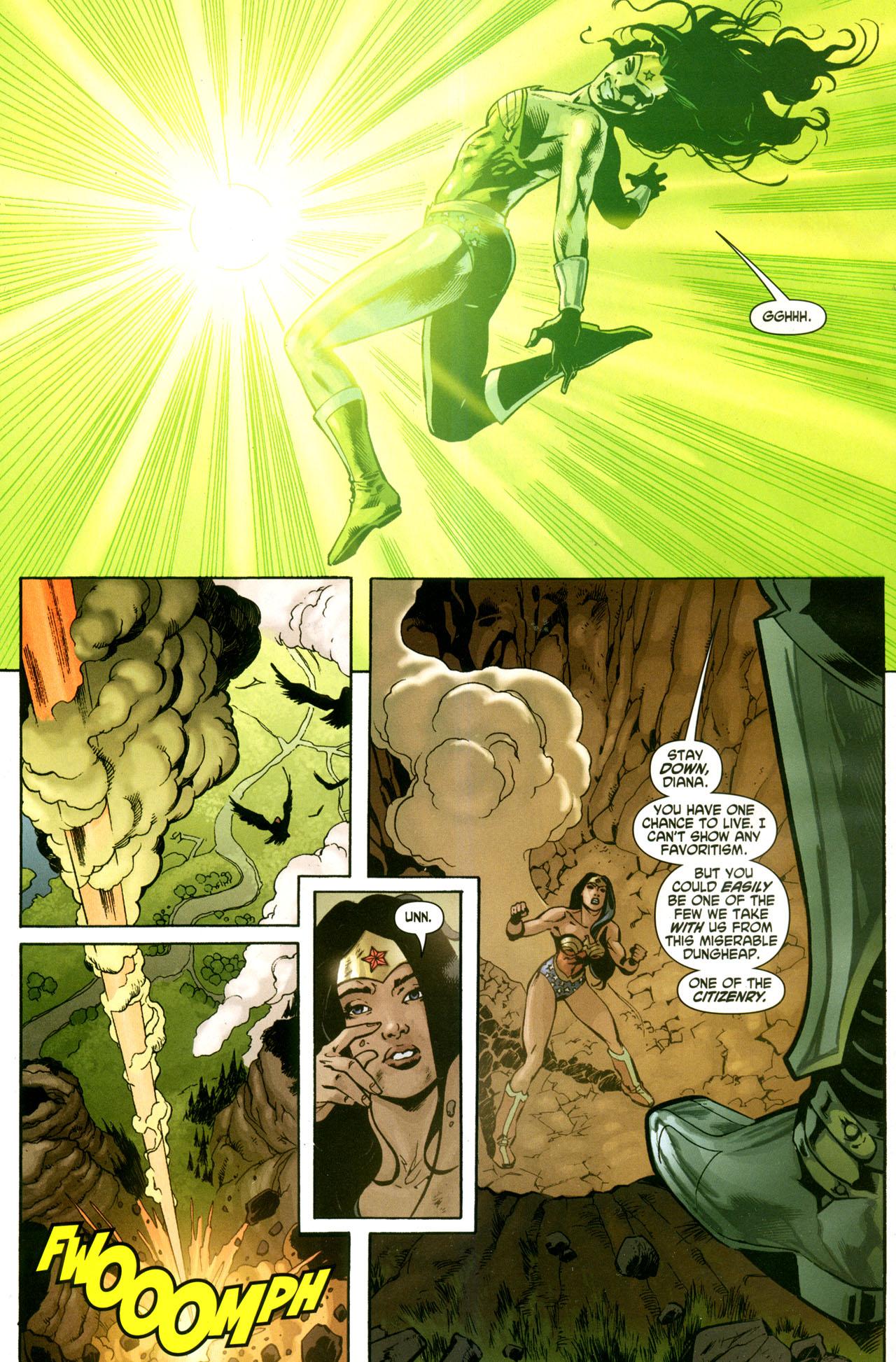 Read online Wonder Woman (2006) comic -  Issue #42 - 22