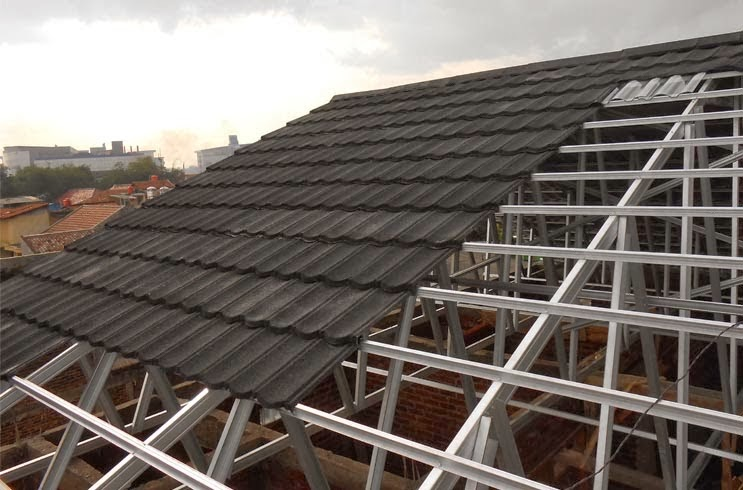 harga ongkos pasang atap baja ringan - garuda: keunggulan genteng metal ...