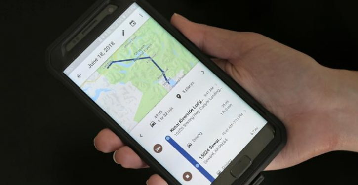Google Spies Your Trips On Your Phone