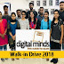 Digital Minds Software Solution walk-in for Draughtsman @ Freshers - Apply Now