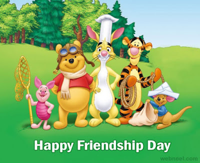 disny little pooh friends