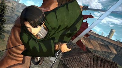 โหลดเกมส์ Attack on titan wings of freedom