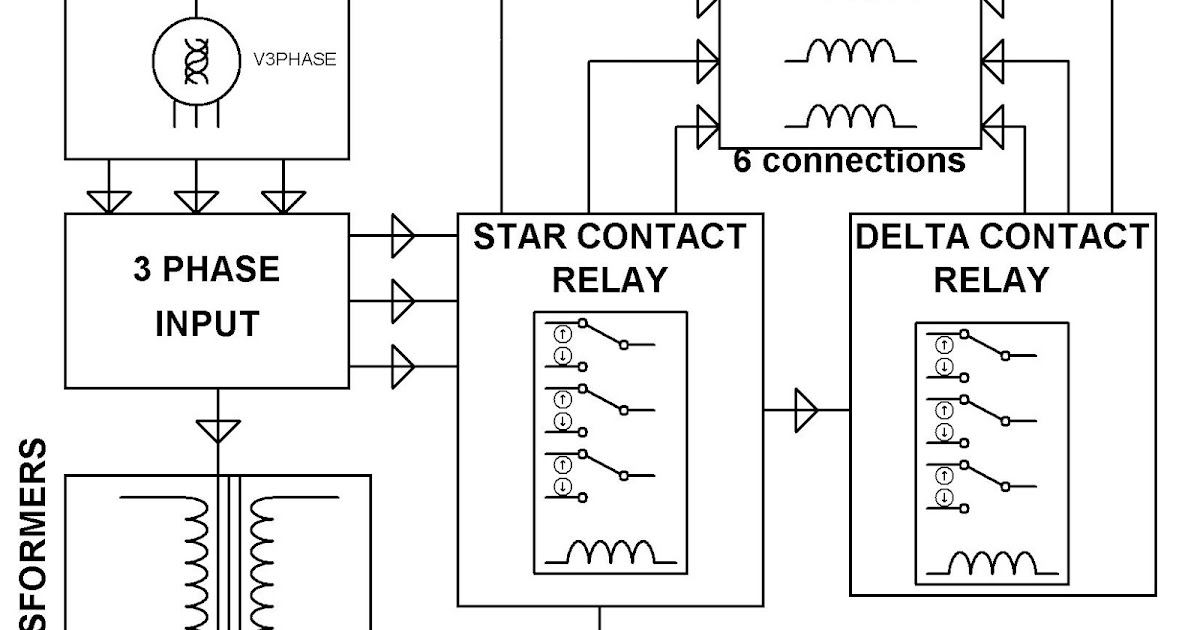 ELECTRONICS PROJECT (MALAYSIA): AUTOMATIC STAR DELTA