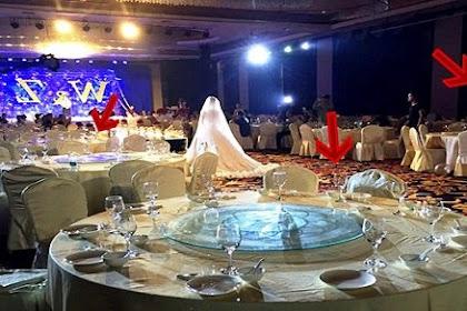 Dari 300 Undangan, Hanya 10 Orang Yang Menghadiri Pernikahan Mewah Ini! Ternyata Penyebabnya..