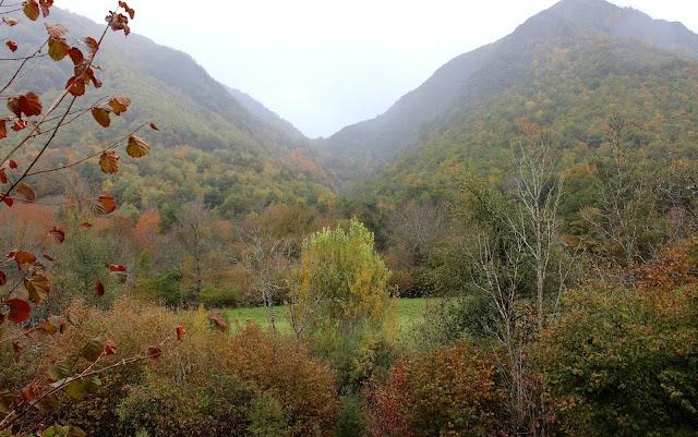 Valles de la comarca de Laciana en León