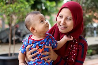 foto bayi sehat muhammad rajjash shadiqi