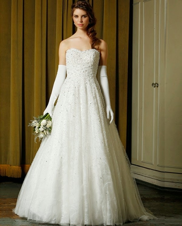 Latest Wedding Gowns 2014